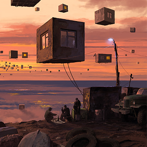 City P. Suburb by Alex Andreev