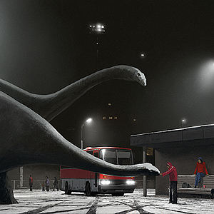 First Snow by Alex Andreev