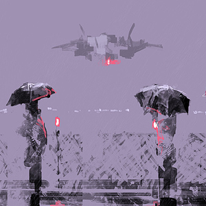 Purple Rain by Alex Andreev